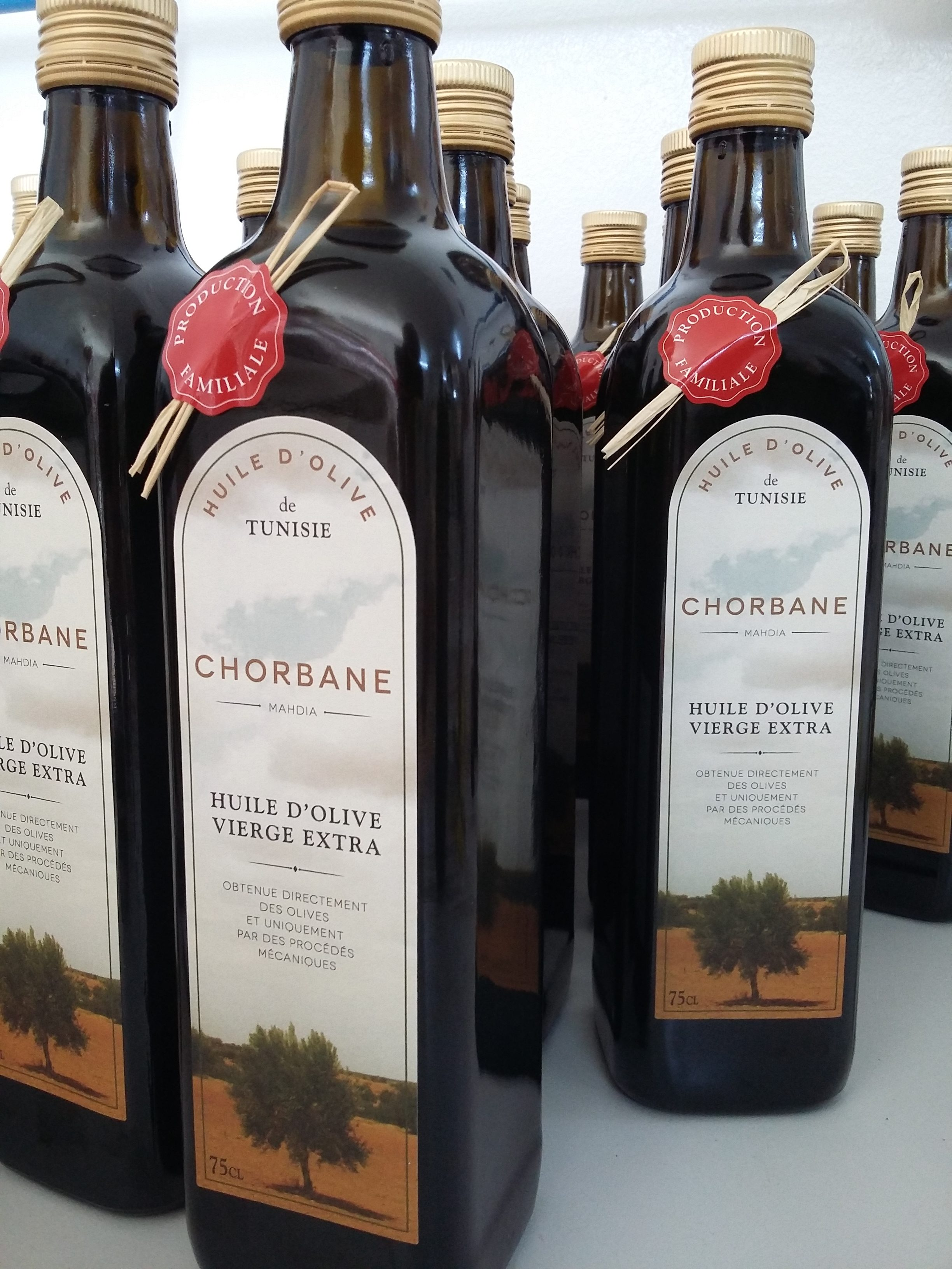 Notre huile d'olive nouvelle est arrivée